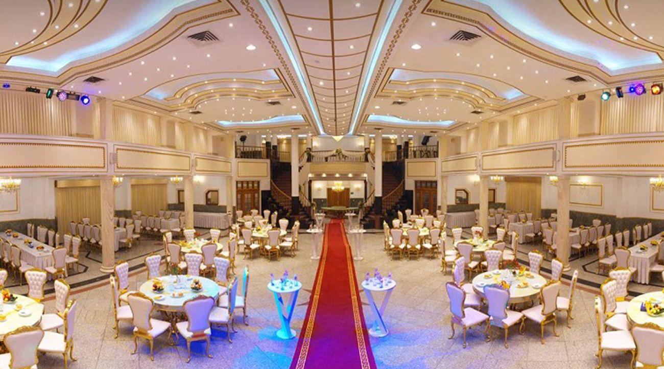 تالار پذیرایی جشن عروسی