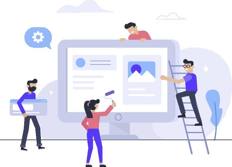 شرکت طراحی وب سایت توسعه پردازان