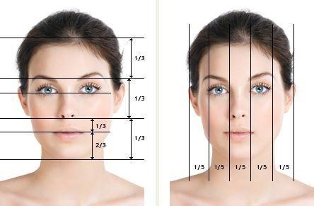 تناسب فرم بینی با بقیه اجزای صورت